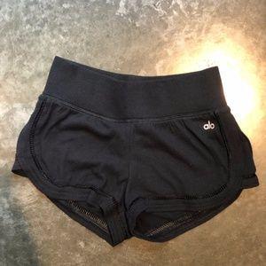 ALO Yoga black shorts